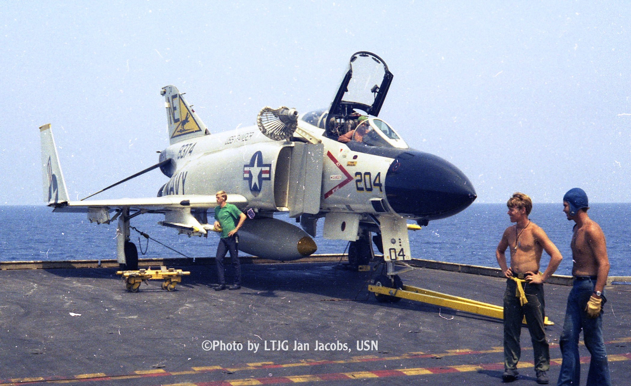 VF-21 refueling probe and basket