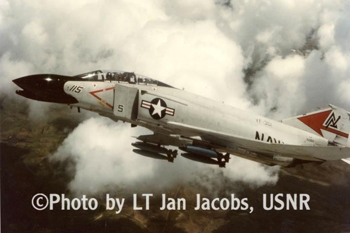 F-4N bomb climbout NAS Miramar